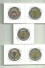 2020 Two Dollar Canadian Coins -  5 Different 2$ Coins ..