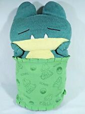 Pokemon Munchlax BIG Sleeping Baby Plush Doll UFO DX Banpresto 2005 Japan 13""
