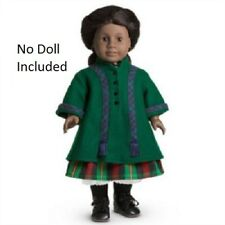 American Girl Doll Addy/'s Green Coat Pleasant Co Wig Brush Sewing Outfit NEW!!