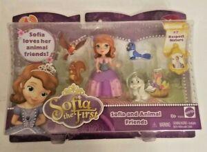 New Mattel Disney Sofia The First Sofia And Animal Friends Play Set #7