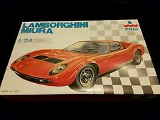 ESCI 1/24 Lamborghini Miura 1960s Supercar Condition Very Rare