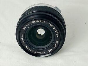 Olympus OM Zuiko 28mm F2.8 Wide Angle Lens