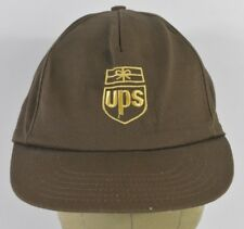 Brown UPS Parcel Co Christmas Embroidered Baseball Hat Cap Adjustable Snapback