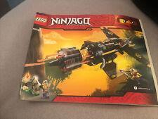 Lego Ninjago 70747 Instruction Manual