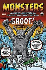 Monsters Monsterbus Volume 1 Lee Kirby Omnibus Marvel HC Hard Cover Sealed $100