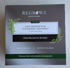 REGROWZ HAIR REGROWTH SERUM - For MEN (6 month)