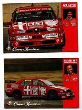 Alfa Romeo Postcard x 2 155 V6 ti DTM Francia Danner Original 1995