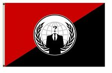 Anonymous Anarchist flag Anarchist Flag 3x5Ft banner