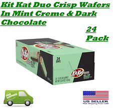 Kit Kat Duo 1 Box of 24 Crisp Wafers In Mint Creme & Dark Chocolate On Sale NOW