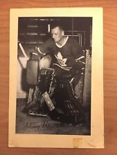 1944/64 BEEHIVE SYRUP GROUP 2 HOCKEY PHOTO JOHNNY BOWER TORONTO LEAFS BEE HIVE