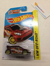 '12 Ford Fiesta #78 * Dark Red  * 2015 Hot Wheels * B26