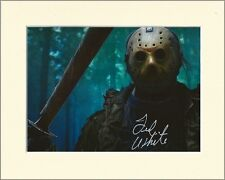 TED WHITE JASON VORHEES FRIDAY 13TH PP MOUNTED 8X10 SIGNED AUTOGRAPH PHOTO