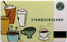 STARBUCKS - COFFEE AND DRINKS - Gift Card Collectible 2006 NO Value RARE !!!
