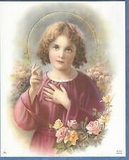 "Catholic Print Picture of the Holy Child Jesus Blessing 8x10"" Simeone"