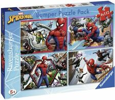 Ravensburger  Puzzle 112 Pièces Bumper Pack 4 Puzzles Spider-Man