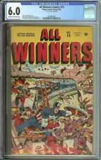 ALL WINNERS COMICS #15 CGC 6.0 CR/OW PAGES // ALEX SCHOMBURG COVER