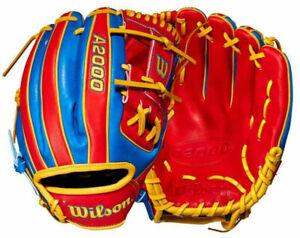 "2021 Wilson A2000 1786 Venezuela Country Pride Limited Glove 11.5"" Baseball RHT"
