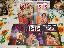 COMPLETE 5 TPB  SET Jean Stewart RETURN TO ISIS RISING WINGED WARRIORS WIZARD