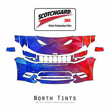 Jeep Grand Cherokee SRT 17-2020 PreCut 3M Scotchgard Paint Protection Clear Bra