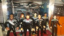 Star Trek LOT OF 7 CUSTOM action figures FROM FIRST CONTACT loose L@@k items