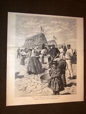 Guerra in Africa nel 1894 La prima Colonia agricola d'Italia all'Asmara Eritrea