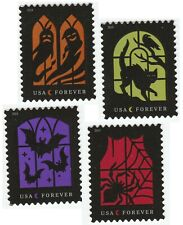 US 5420-5423 Spooky Silhouettes forever set (4 single stamps) MNH 2019