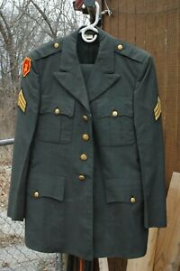 US Army Enlisted Service Dress Class A w/ Pant Sargent