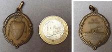 Médaille en bronze pendentif Navire de guerre R.N. Napoli vers 1900 medal