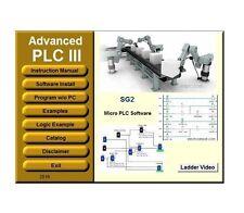 PLC 3 Programming Software Ladder & Logic IEC Industrial Standard Simulation USB