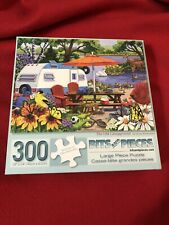 "Bits and Pieces 300 Piece Jigsaw Puzzle The Old Campground 18""X 24"""