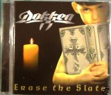DOKKEN-Erase the slate                               CD