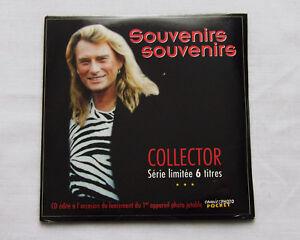 Johnny HALLYDAY Souvenirs souvenirs CD PROMO 6 titres POLYGRAM (1996)NEUF SCELLE