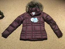 New Columbia Women's Small Mercury Mavens IV Jacket. Purple Plaid. See Photos.
