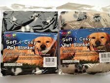 Pet Blanket - Dogs Cats etc Use For Baskets Car or Home - Machine Washable