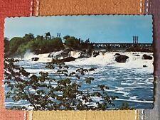 Falls on Androscoggin River, Lewiston, Auburn, Maine