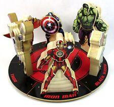 Set of 6 Lowe's Build and Grow Marvel Avengers Hulk Iron Man Falcon Thor A-21