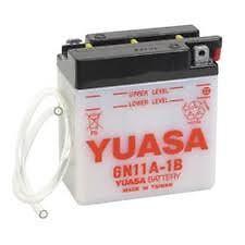 Batterie Moto Yuasa 6N11A-1B 11AH