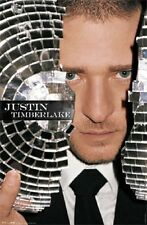 2007 Funky Justin Timberlake Broken Disco Ball Poster New 22x34 Fast Free Ship