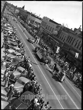 1947 OREGON PHOTO - Downtown Salem - 4th of July Parade
