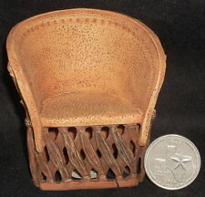 Raines Take A Seat Mexican Leather Chair Equipale 1:12 Patio Dollhouse Miniature