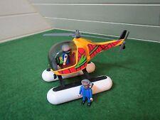 Playmobil  3220 Luftkissenhelikopter  Wasserhubschrauber -Hubschrauber -Piloten