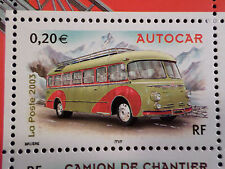 FRANCE 2003, timbre 3609, VOITURES, VEHICULE, AUTOCAR, neuf**, CARS, VF MNH