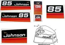 Johnson Outboard Decals V4 1974