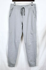 "LULULEMON City Sweat Jogger Pants L Inseam 34"" Tall Light Gray French Terry"