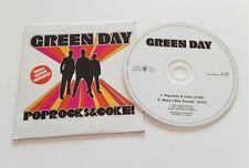 GREEN DAY 'PopRocks & Code' CD Single Promo 2001 Spain Rare Greatest Hits