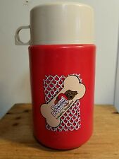 Pound Puppies Tonka Lunchbox Thermos Vintage 80's