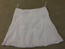 MNG Suite white A-line skirt size 6