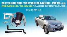 ProVent Catch Can Kit for 2015 Mitsubishi Triton MANUAL MQ MR Pajero Sports AUTO