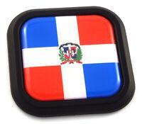 1x DOMINICAN REPUBLIC FLAG CAR DECAL #5875