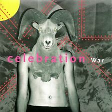 "CELEBRATION - WAR - 4AD 7"" VINYL SINGLE - MINT"